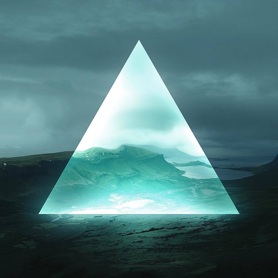 треугольник на фото фото