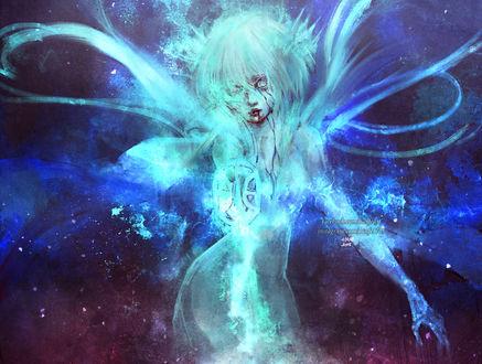 Фото Rukia Kuchiki / Рукия Кучики из аниме Блич / Bleach, by NanFe