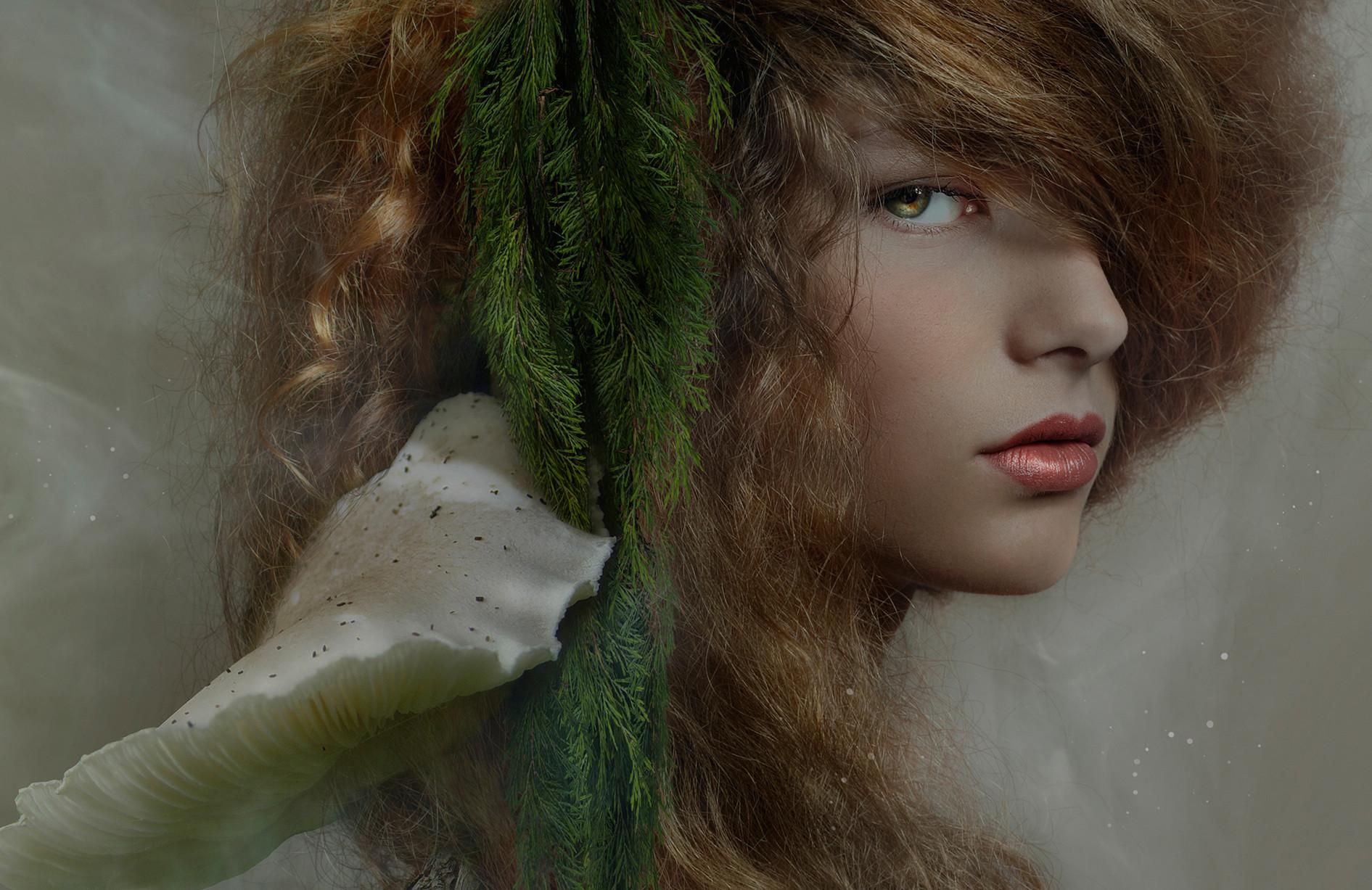 Фото Оригинальный портрет девушки, by Florencia Tucci