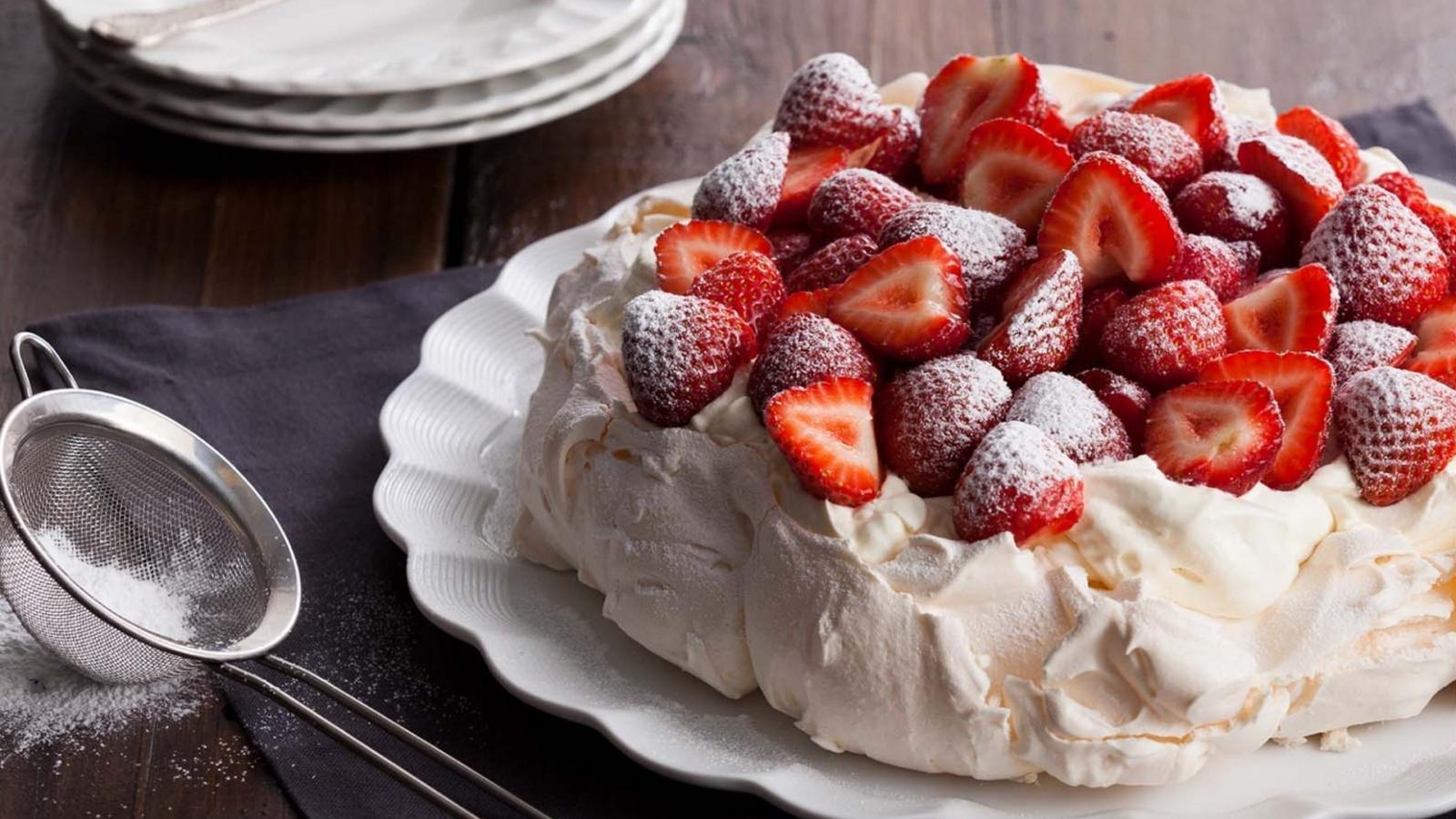 Десерт павлова классический рецепт пошагово