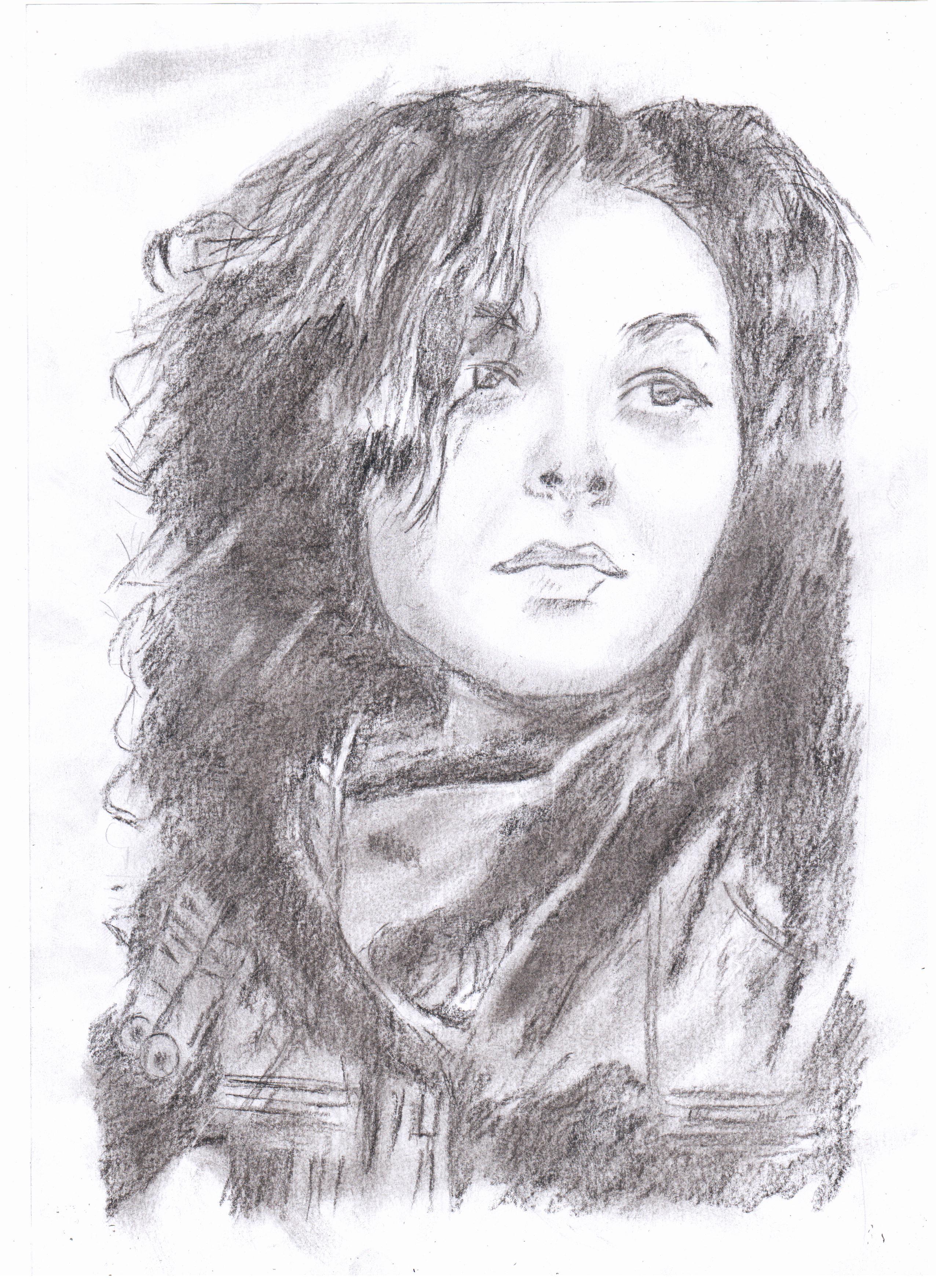 Рисованные девушки в контакте
