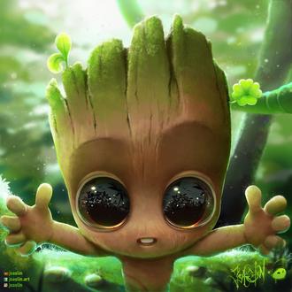 Фото Groot / Грут из фильма Guardians of the Galaxy / Стражи Галактики, by JoAsLiN