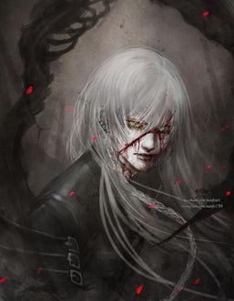 Фото Гробовщик / Undertaker из аниме KuroShitsuji / Dark Butler / Темный Дворецкий, by NanFe
