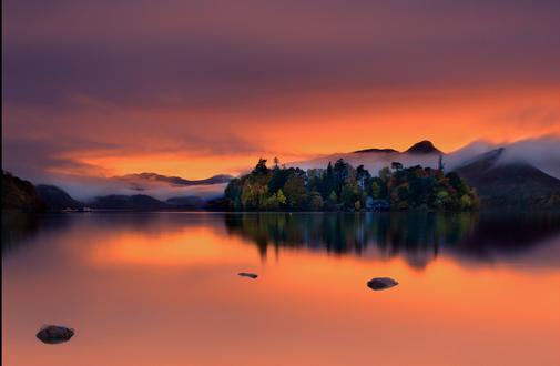 Фото Восход солнца над озером, фотограф Paul