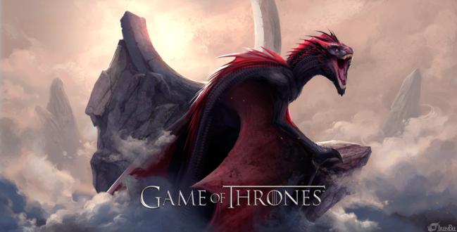 Фото Dragon Drogon / Дракон Дрогон, из сериала Game of Thrones / Игра престолов, by IrenBee