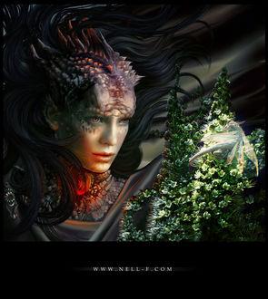 Фото Королева драконов. Dragons / Драконы, by nell-fallcard