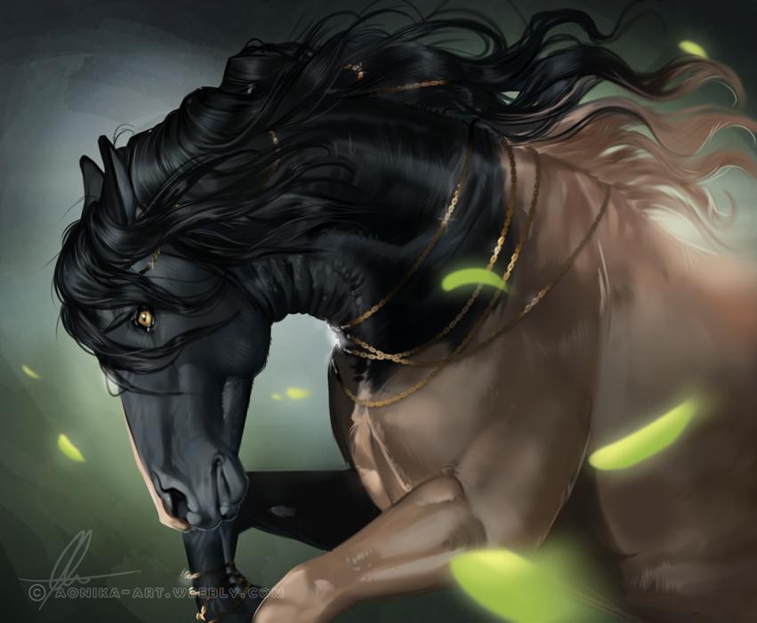 Фото Фантастическая лошадь, by AonikaArt