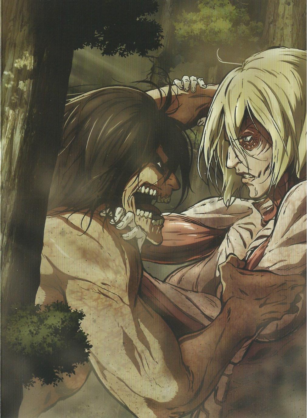 Аниме - Атака титанов (первый сезон) (Shingeki no Kyojin) смотреть ... | 1376x1011