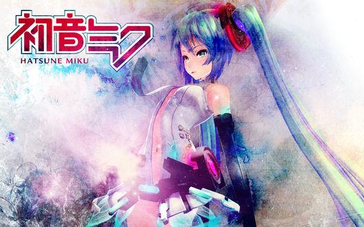 Фото Vocaloid Miku Hatsune / Вокалоид Мику Хатсуне, by Hidaomori