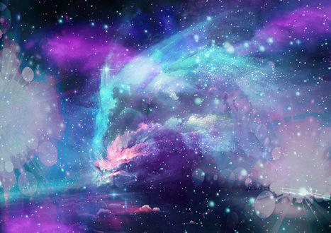 Фото Фон - галактическая абстракция, by BadAssSpartaSpawn