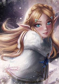 Фото Princess Zelda / Twilight Zelda / Принцесса Зельда из игры Twilight Princess / Zelda no Densetsu, by Axsens