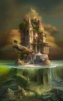 Фото Остров похищенных принцесс, художник Olga Cornacchia / Ольга Корнаккия