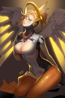 Фото Персонаж Mercy / Ангел из игры Overwatch / Дозор, by son6