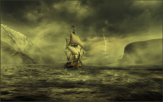 Фото Парусник в море. Фотограф НАДЕЖДА