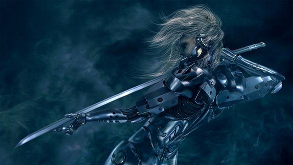 Фото Киборг с мечом, by Wen-JR