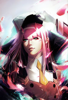 Фото Zero Two / Зеро Ту из аниме Darling in the FranXX / Милый во Франкcе, by Asevc