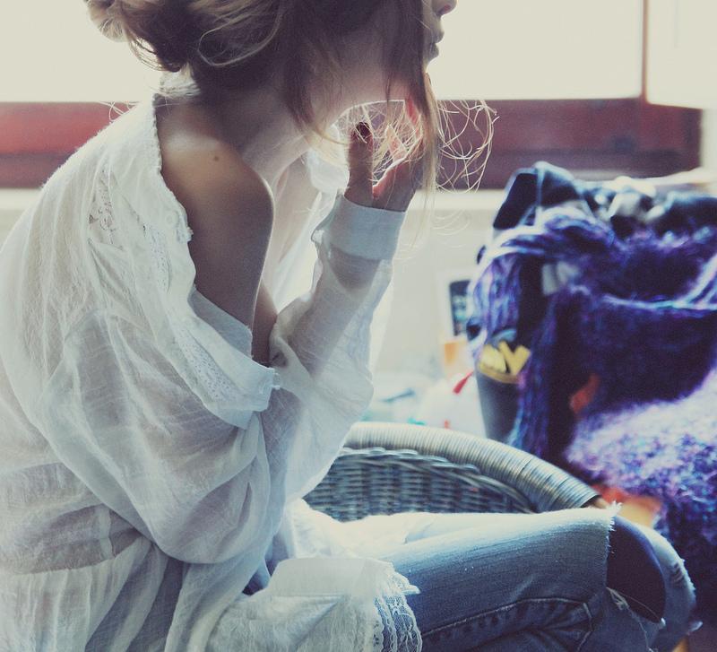 Фото Девушка в белой рубашке, by FabriziaMiliaPhotos