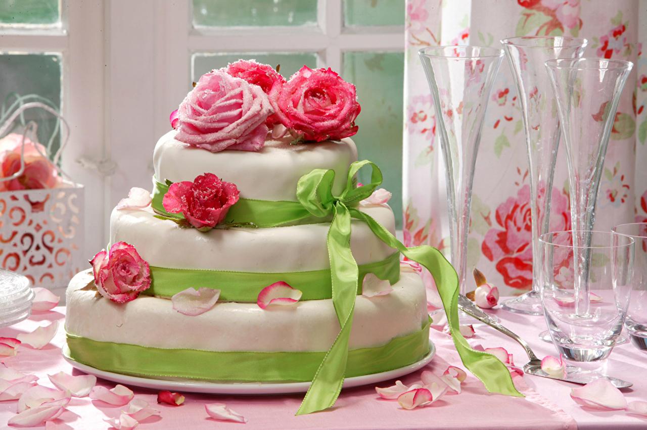 открытки с днем рождения торт из роз будут диктоваться