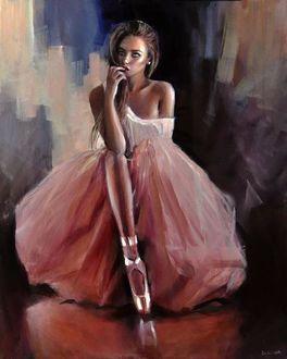 Фото Задумчивая балерина, художник Emilia Wilk