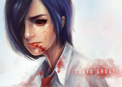 Фото Kirishima Touka / Киришима Тока из аниме Tokyo Ghoul / Токийский Гуль, by Junniehere