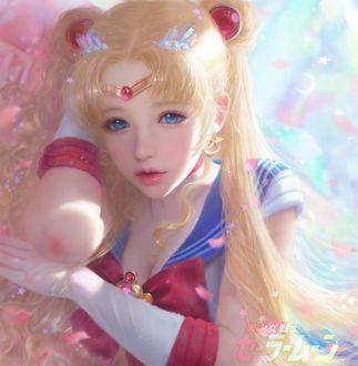 Фото Портрет Sailor Moon / Сейлор Мун, by Ruoxin Zhang