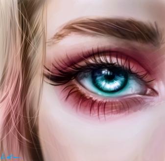 Фото Девушка с голубыми глазами, by Caroline1233