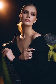 Фото Гламурная девушка в черном, фотограф Lelya Martian