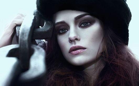 Фото Модель Saga Gоthlin с голубыми глазами, by Bernhardina Photography