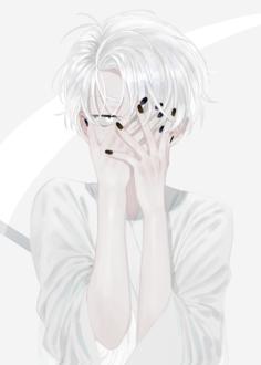 Фото Девушка закрыла лицо руками