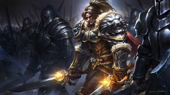 Фото Varian Wrynn / Вариан Ринн - персонаж игры World of Warcraft, by Qichao Wang