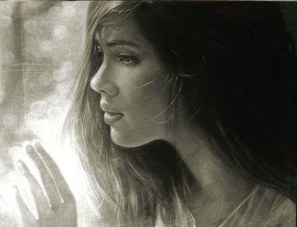 Фото Девушка у окна
