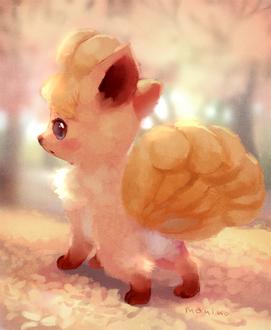 Фото Vulpix / Вулпикс из игры Pokemon / Покемон, by manino