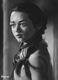 Фото Arya Stark / Арья Старк из сериала Game Of Trones / Игра Престолов, by MaromiSagi
