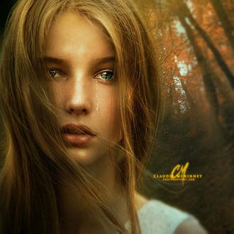 Фото Девушка со слезами на лице, by Phatpuppyart-Studios