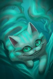 Фото Cheshire Cat / Чеширский Кот из сказки Alice in Wonderland / Алиса в стране чудес, by leamatte