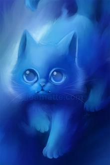 Фото Голубой котенок-дух, by leamatte