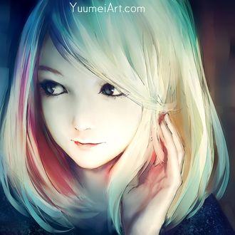 Фото Портрет белокурой девочки, by Yuumei_Art