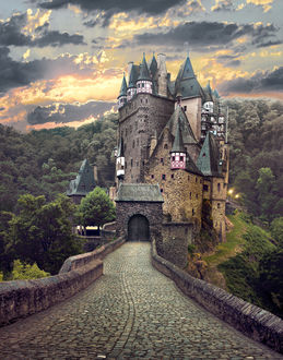 Фото Дорога к замку Eltz / Эльц, фотограф Thomas S