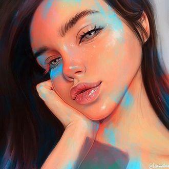 Фото Портрет девушки с серыми глазами, by Julia Razumova