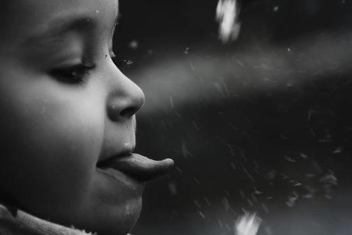Фото Ребенок показывает язык, by _3mily24