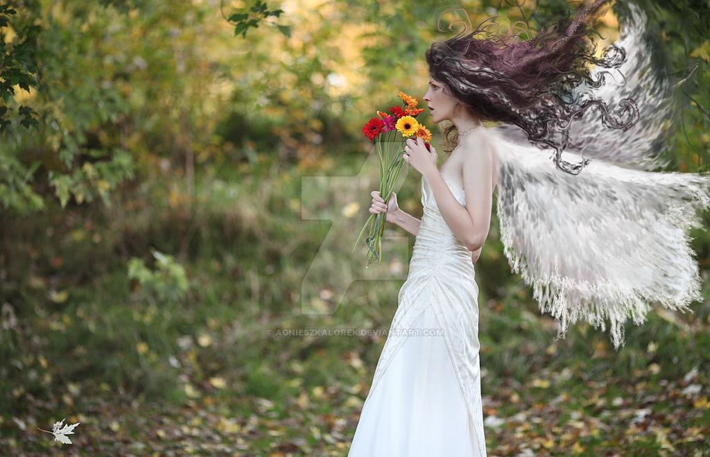 Фото Девушка в образе ангела, by agnieszkalorek