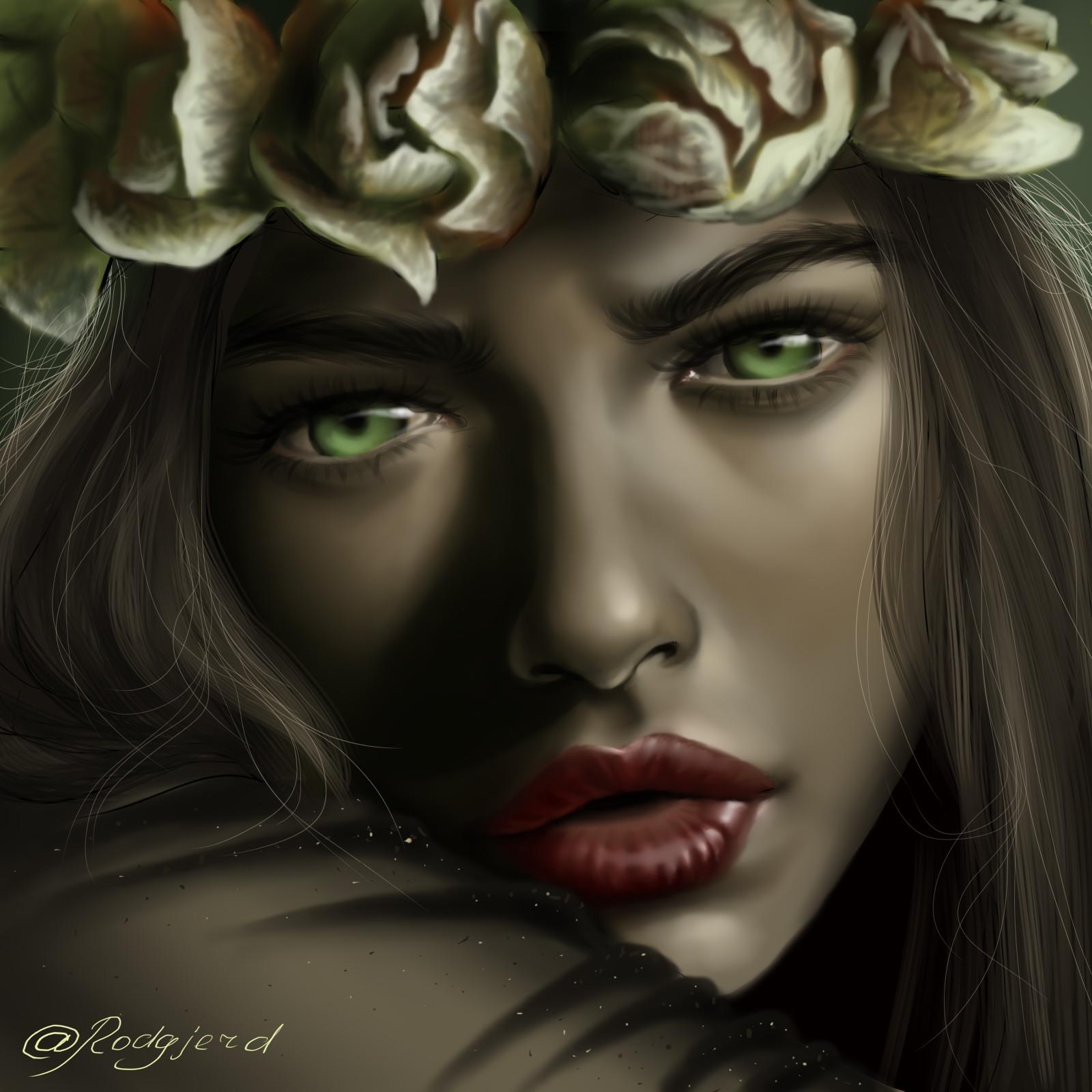 раздела изображения картинка зеленоглазой ведьмы еще бывает
