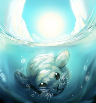 Фото Тюленьчик под водой, by Kipine