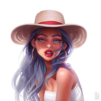 Фото Девушка в шляпе, by DanielaUhlig