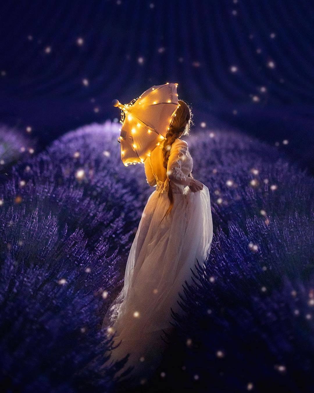 фото волшебный сон пышному