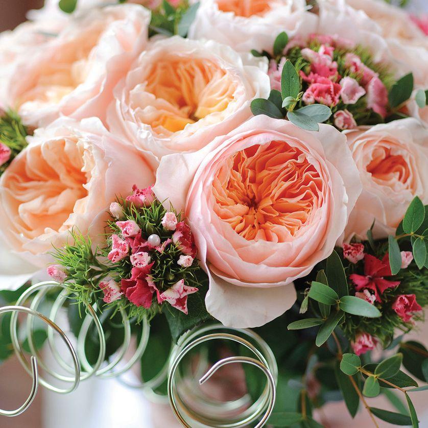 Букет английских роз, букет