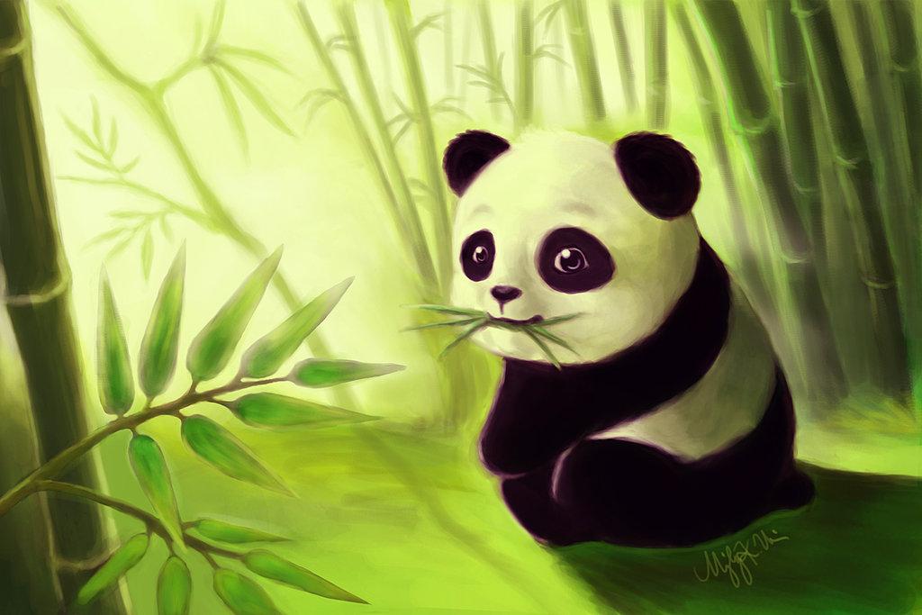 Смешные про, смешная панда рисунок