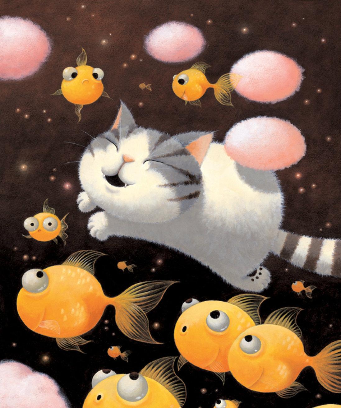 Добрых снов смешные картинки