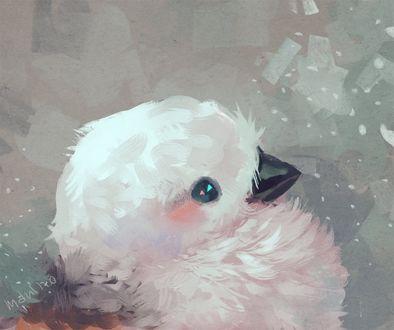 Фото Белая птичка, by manino