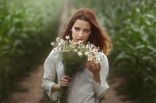 Фото Девушка с ромашками, фотограф Den Black